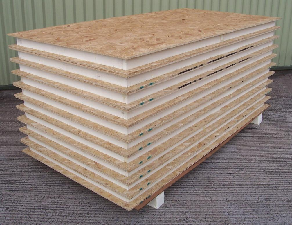 A Pack Of 10 - Sips-100 Panels