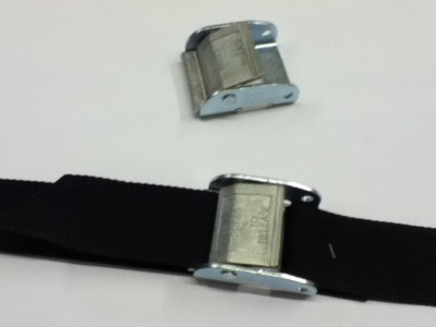 502      Strap with 50mm Heavy duty Metal Cam Buckle