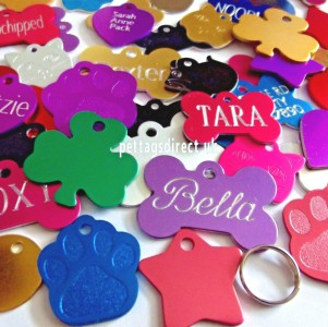 Cat & Dog id Tags - Deeply Engraved