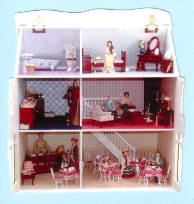 KS 34 Arkwrights dolls house shop