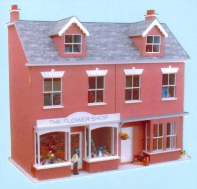 Dolls house / shop Jubilee terrace block