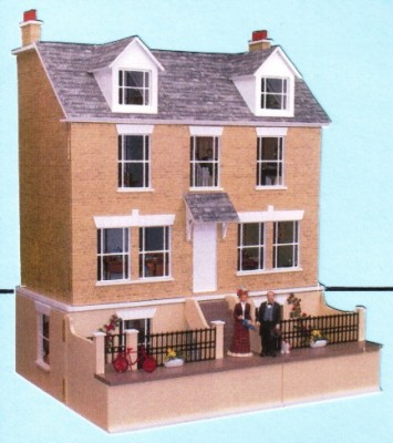 Haven Cottage dolls house with basement
