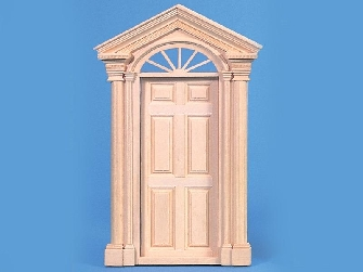 Georgian period, deluxe front door