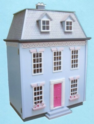Image 1 Childrens Georgian dolls house