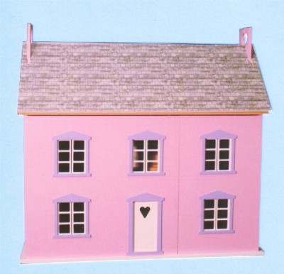 Tulip cottage dolls house kit, unpainted