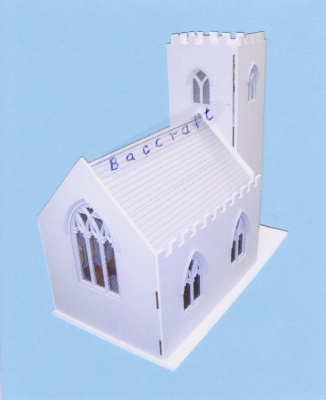 St. Peters dolls house church kit
