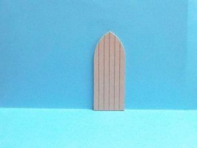 Dolls house miniature church door