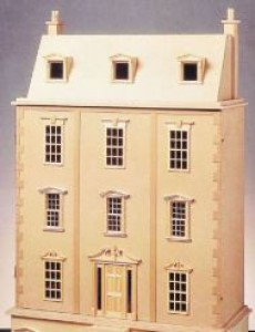 Kestrol dolls house plan 1/12th scale