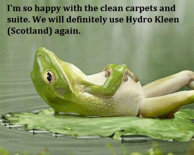 Carpet cleaning West Lothian