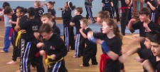 kickboxing Reading Training in Action