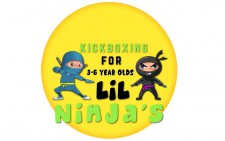 Lil Ninjas kickboxing 3-6 years old Reading,Hayling island, Chichester  West sussex