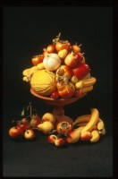 SELECTION OF CERAMIC ORCHARD AND EXOTIC FRUITS