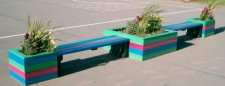 Seating/planter Combination