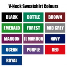 VNSSZC260 V-Neck Sweatshirt : from £10.49