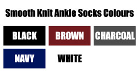 GBSKANSOZC Smooth Knit Ankle Socks : from £5.99 per five pair pack