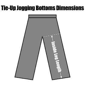 TIUPJOBOZC Tie-Up Jogging Bottoms : from 8.49