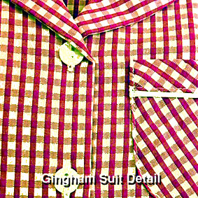 TPGHSUWB Two Piece Gingham Suit : from £11.99