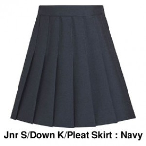 JUSDKPSKDL Junior Stitched Down Knife Pleat Skirt : from £13.99
