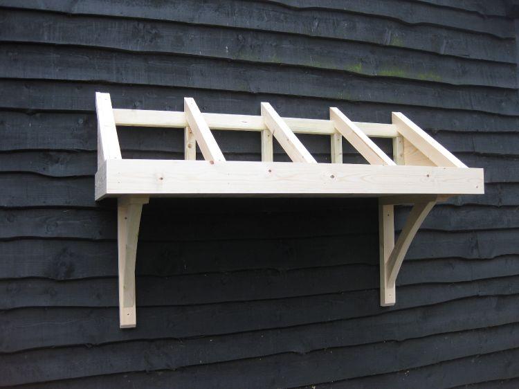 & Timber door canopies - Marlborough style for front u0026 back doors