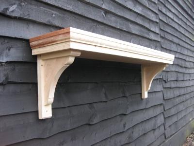 & Timber door canopies _ flat roofed canopies _leaded canopies