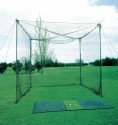 golf practice enclosure