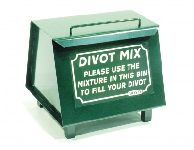 0033 SLOPE SIDED DIVOT MIX BIN