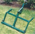 cushman 4 wheel/large wheel frame