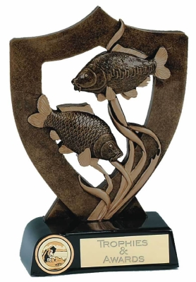 GL A343 FISHING SHIELD TROPHY
