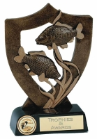 Fishing Shield Trophy