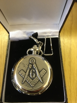 Lovely Masonic Pocket Watch