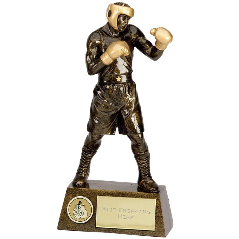 Boxing Boxer Pinnacle Trophy