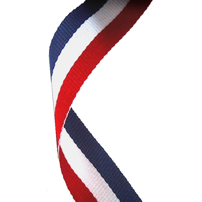 Red /white/blue Medal Ribbon 22mm Wide