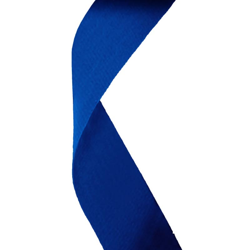 Blue Medal Ribbon 22mm Wide