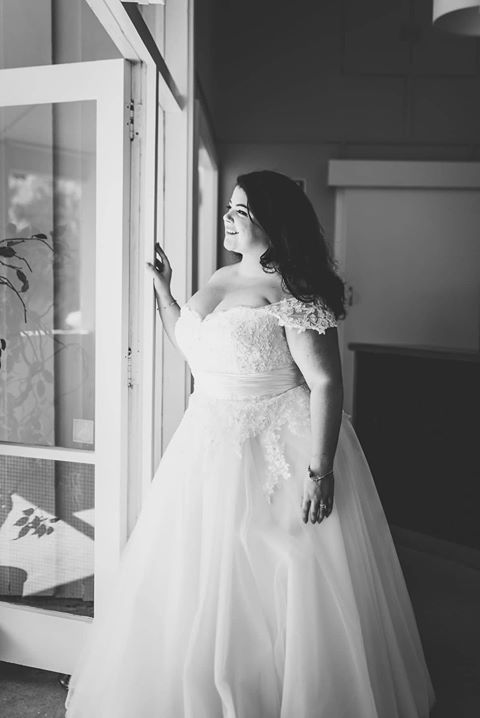 Curvy Wedding Dress at About A Bride