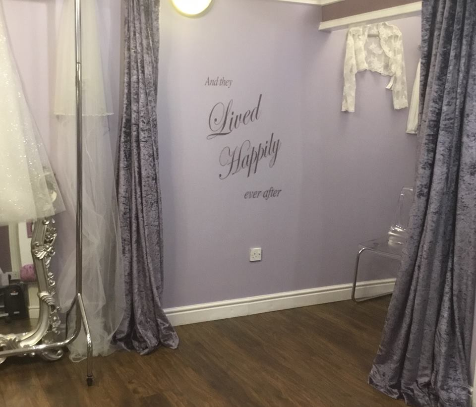 Private appointments at About A Bride