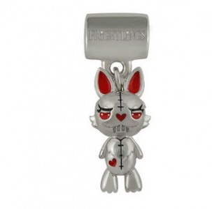 Buttercup Bunny Vampling  Slide on  Charm