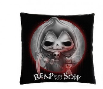 "Grimwold ""Reap What You Sow"" Cushion"