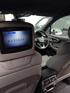 Rosen AV7950H Headrest Entertainment Package