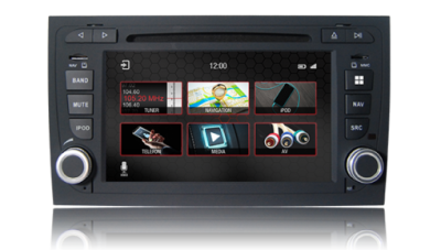 Audi A4 Series Touch Screen LCD Multimedia Navigation System (B7, 2004-2007)