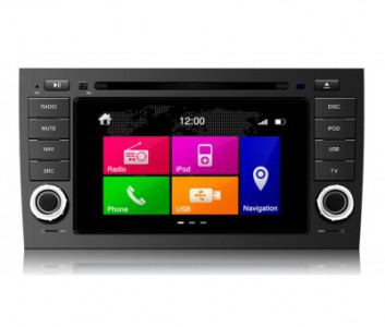 Porsche Series Touch Screen LCD Multimedia Navigation System - Porsche Cayenne (2003-2010)