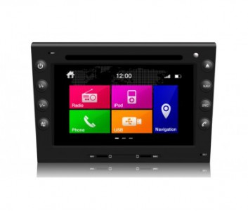 Porsche Series Touch Screen LCD Multimedia Navigation System - Porsche Boxster/Carrera/911 (2006-2008) + Cayman (2005-2008)