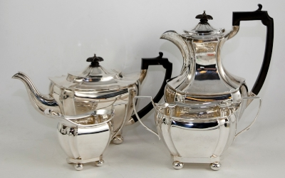 Silver Coffee /Tea  Set c.1912