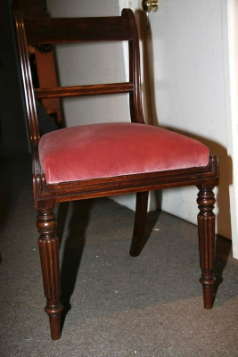 Set 3 Mahogany Chairs c.1830