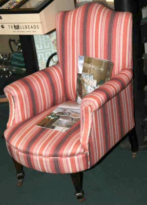 Victorian Upholstered Parlour Chair