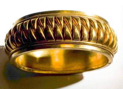 Bangle 15 Ct Antique Georgian Gold