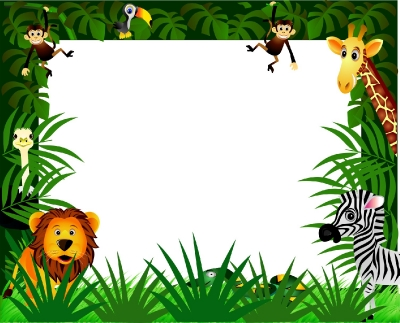 IN THE JUNGLE DRY/WIPE WHITEBOARD
