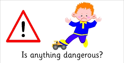 SAFETY SIGN - IS ANYTHING DANGEROUS?