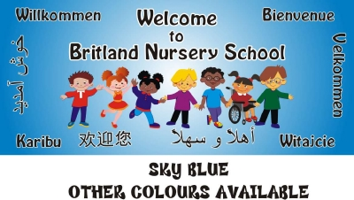WELCOME BOARD - DISABILITY & MULTICULTURAL PERSONALISED WITH SCHOOL NAME