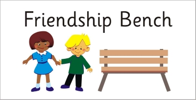 AREA SIGN - FRIENDSHIP BENCH