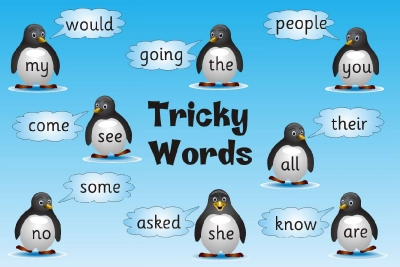 TRICKY WORDS - SET OF 3 POSTER BOARDS